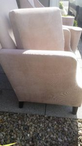 Upholstery cleaning in Portaferry - after